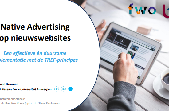 Whitepaper native advertising op nieuwswebsites
